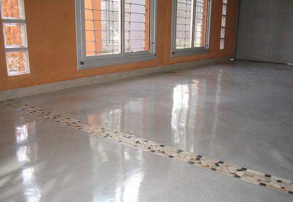 Pulir suelo de hormig n for Hormigon pulido para interiores